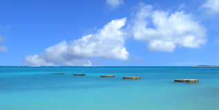 Coastal area of Aruba Stock Photos