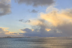 Coastal area on Lofoten Islands Royalty Free Stock Image