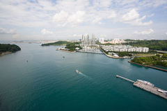 Coastal areas of Singapore Stock Photography