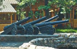 Coastal artillery battery. Stock Photography