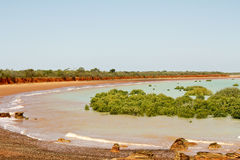 Coastal Australian Landscape Royalty Free Stock Photo