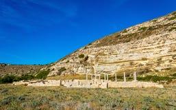 Coastal Basilica of Kourion, Cyprus Stock Photography