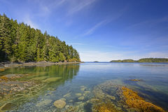 Coastal Bay on a Summer Day Stock Image