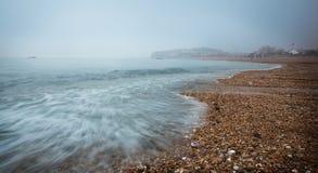 The coastal beach Stock Image