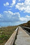 Coastal Boardwalk Royalty Free Stock Photo