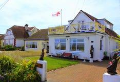 Coastal bungalows Kent United Kingdom Royalty Free Stock Image