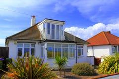 Coastal bungalows Kent United Kingdom Stock Photo