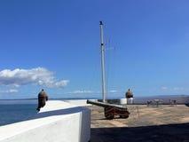Coastal cannon  Stock Image