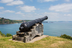 Coastal Cannon Stock Photography