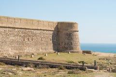 Coastal castle Stock Photography
