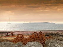 Coastal chain Stock Photography