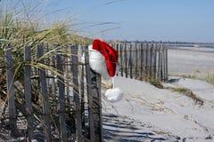 Coastal Christmas stock images