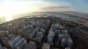 Coastal City stock video footage