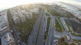 Coastal City 2 stock footage