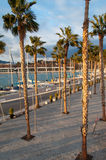 Coastal city of Malaga, Costa del Sol, Andalucia, Spain Stock Photography
