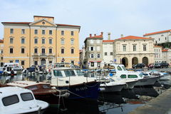 Coastal city of Piran Stock Images