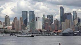 Coastal City, Urban Area, Buildings stock footage
