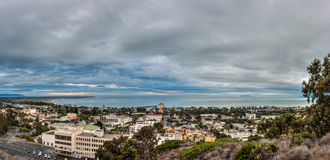 Coastal city of Ventura in path of tropical weather. Royalty Free Stock Photo