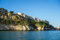 Coastal city of Vieste, Puglia, Italy Stock Photo
