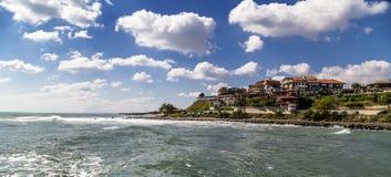 Coastal city Royalty Free Stock Photos