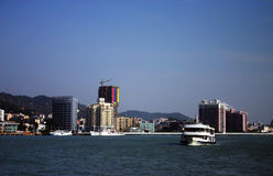 Coastal city, Xiamen China Royalty Free Stock Images