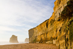 Coastal Cliff - 12 Apostles Royalty Free Stock Photos
