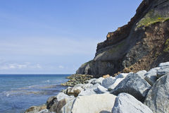 Coastal Cliffs Stock Photos