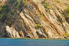 Coastal cliffs Royalty Free Stock Image