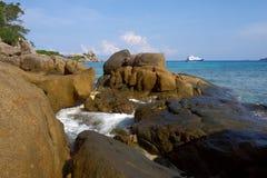 Coastal cliffs and beaches Royalty Free Stock Photos