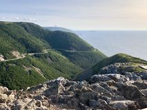 Cape Breton Cliffs royalty free stock photos