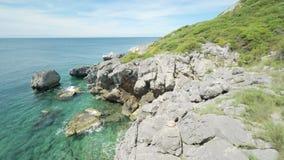 Coastal Cliffs stock video footage
