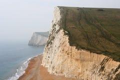 Coastal Cliffs,Lulworth Cove,Dorset, South England Stock Images
