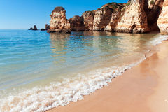 Coastal cliffs (Ponta da Piedade), Lagos, Portugal Royalty Free Stock Photography