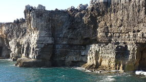 Coastal Cliffs Rock Formations Stock Photography