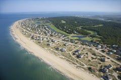 Coastal community. Stock Photo