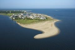 Coastal Community. Stock Photography