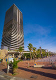 Coastal condo high rise. Royalty Free Stock Images