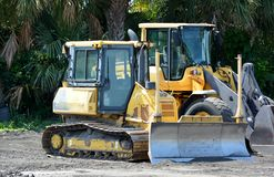 Coastal Construction Equipment Stock Photos