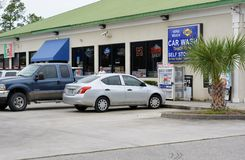 Coastal Convenience Mart stock image