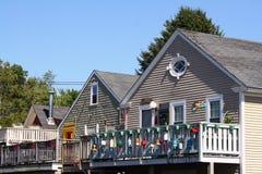 Coastal Cottages Stock Image