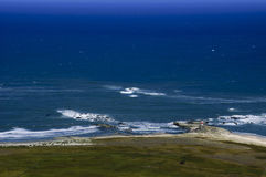 Coastal edge Mocha Island, Chile Stock Images