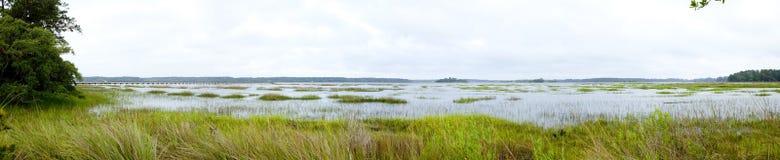 Coastal estuary Royalty Free Stock Photo