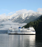 Coastal Ferry Stock Photo