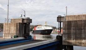 Coastal Ferry Royalty Free Stock Photo