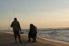Coastal fishing Stock Photography