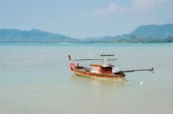 Coastal fishing boats at boat berthed. Stock Photo