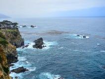 Coastal Fog Big Sur California Stock Image