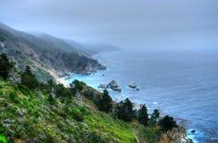 Coastal Fog Big Sur California Royalty Free Stock Photo