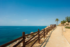 Coastal footpath Royalty Free Stock Photos