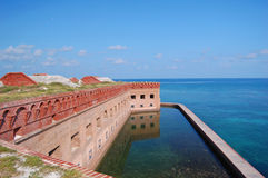 Coastal fort jefferson Stock Photo